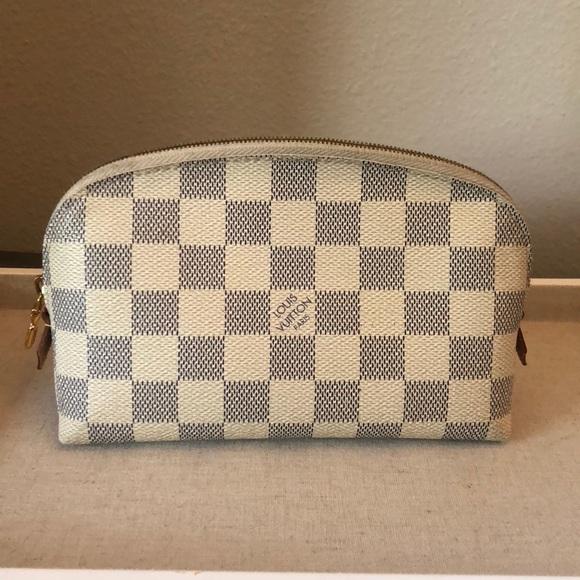 Louis Vuitton Handbags - Louis Vuitton Damier Azur small cosmetic pouch 73c70f244fe31